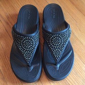 New Crocs Monterrey Slide Wedge